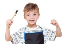 Free Boy With Tools Royalty Free Stock Photos - 20367108