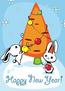 Free Christmas Card 4. Stock Photography - 20367322