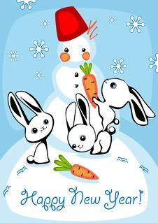 Free Christmas Card Stock Image - 20367331
