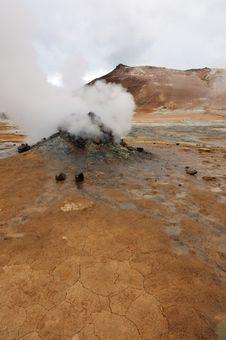 Free Hverir Geothermal Area Near Krafla Royalty Free Stock Images - 20367519