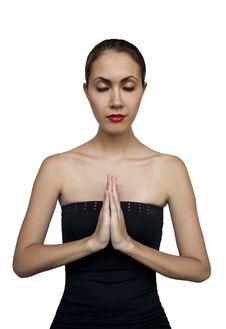 Free Woman Prays Stock Photo - 20368320