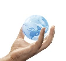 Free Save The Blue Earth Stock Photography - 20368412