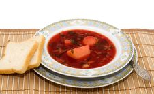 Free Vegetable Soup - Borscht Stock Images - 20368724