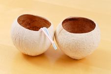 Free Coconut Cups Stock Photos - 20368773