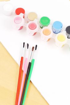 Free Using Water Colors Stock Photography - 20368782