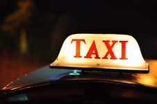 Free Taxi Royalty Free Stock Image - 20369086