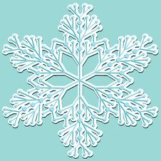 Free Snowflake, Stricker Royalty Free Stock Images - 20369789