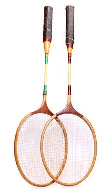 Free Badminton Racquets Stock Image - 20369991