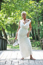 Free Beautiful Bride Outdoor Royalty Free Stock Photography - 20370387