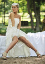 Free Beautiful Bride Outdoor Royalty Free Stock Photography - 20370657