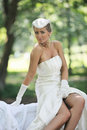 Free Beautiful Bride Outdoor Stock Photography - 20370822