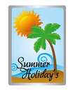 Free Summer Holidays Tag Royalty Free Stock Images - 20371869