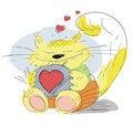 Free Enamoured Cat Stock Image - 20375841