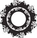 Free Ornate Abstract Silhouette Stock Image - 20376471