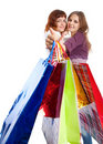 Free Two Teen Girls With Bags Stock Photos - 20377133