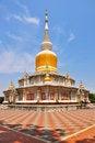 Free Pagoda Maha Sarakham Thailand Royalty Free Stock Image - 20378256