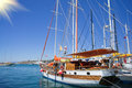 Free Beautiful,amazing Yachts At Coast Aegean Sea. Stock Images - 20378884