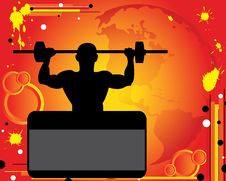 Free Weight-lifter Royalty Free Stock Image - 20370106