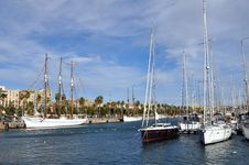 Free Port Vell, Barcelona Royalty Free Stock Images - 20370789