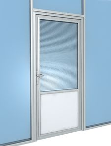 Free Office Door Construction Royalty Free Stock Image - 20371116