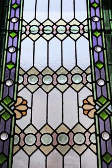 Free Stained Glass Windows Bedding Colors Stock Images - 20371344