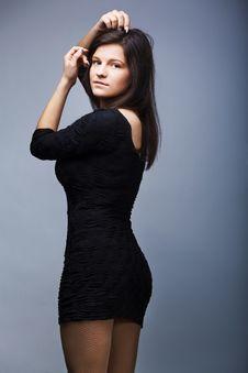 Free Portrait Of Pretty Fashionable Girl Stock Image - 20371381