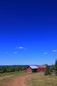 Free Red Oregon Barn Stock Photos - 20371683