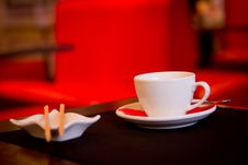 Free In Red Cafe Stock Photography - 20372032
