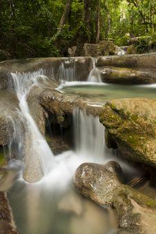 Free Erawan Waterfall Stock Images - 20372734