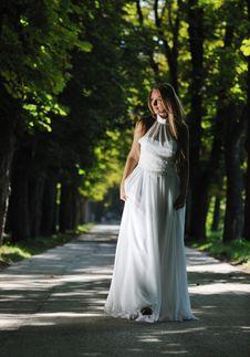 Free Beautiful Bride Outdoor Stock Image - 20372911