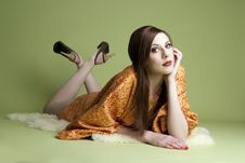 Free Portrait Of Young Model Royalty Free Stock Image - 20373326