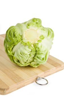 Free Green Cabbage Royalty Free Stock Photos - 20373828