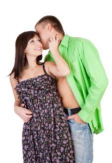 Free Loving Couple Royalty Free Stock Photos - 20374478