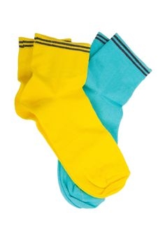 Free Two Pair  Yellow Socks Royalty Free Stock Images - 20374509
