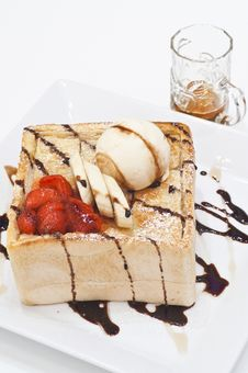 Free Honey Toast Royalty Free Stock Images - 20374739