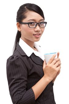 Free Asia Business Woman Royalty Free Stock Image - 20374876