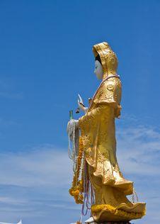 Free Kuan Yin Thep The Holy Angels Stock Photos - 20374973