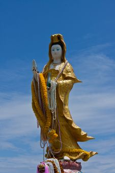 Free Kuan Yin Thep The Holy Angels Royalty Free Stock Photo - 20374975