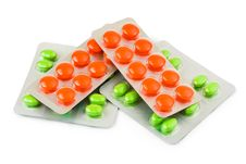 Free Packs Of Pills Stock Photo - 20375040