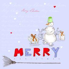 Free Christmas Card Stock Photo - 20375850