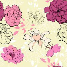 Free Decorative Seamless Wallpaper Stock Image - 20375911