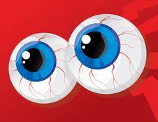 Free Balls Bulging Eyes Stock Photo - 20376390