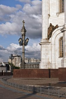 Free Moscow City Christ The Saviour Cathedral View Royalty Free Stock Photos - 20376438