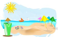 Free Summer Background Royalty Free Stock Photo - 20376575