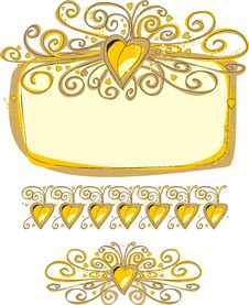 Free Ornate Frame Royalty Free Stock Images - 20376609