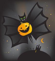 Free Halloween Bat Stock Photos - 20376843