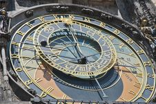 Free Astronomical Clock Royalty Free Stock Photography - 20377097