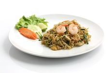 Free Thai Food Padthai Stock Image - 20377141