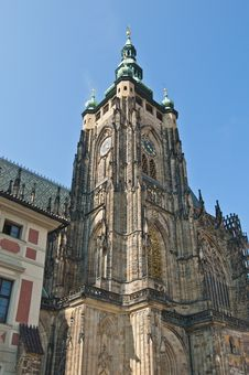 Free Saint Vitus Cathedral Stock Photography - 20377172