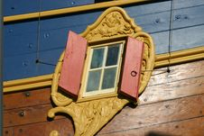 Old Ship S Window Royalty Free Stock Photography